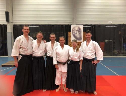 Aikido seminar Christian Tissier in Antwerpen