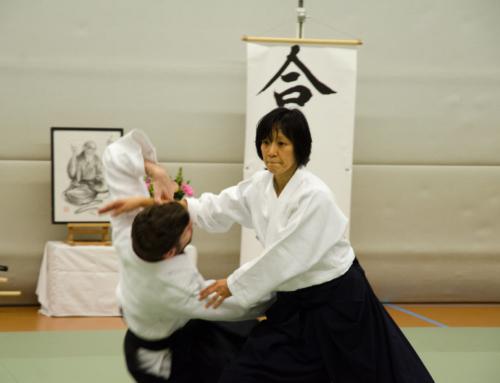Aikido Seminar Miyuki Kumazawa te Woerden